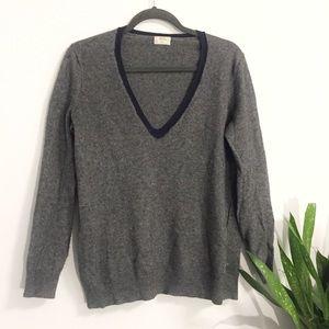 Madewell Deep V Sweater